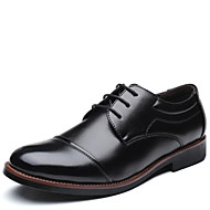 Masculino sapatos Courino Todas as Estações Sapatos formais Oxfords Para Festas & Noite Preto Marron