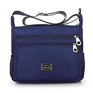 お買い得  ショルダーバッグ-女性用 バッグ オックスフォード クロスボディーバッグ ジッパー ルビーレッド / パープル / フクシャ