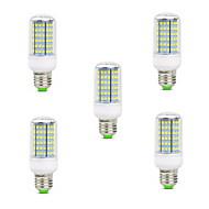 10W E14 B22 E26/E27 LED Corn Lights T 126 SMD 2835 900-1000 lm Warm White Cold White 2800-3200/6000-6500 K Decorative AC 220-240 V 5pcs