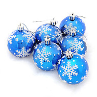 6pcs Kerstmis KerstversieringenForHoliday Decorations 18*6*12