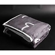 Super-pehmeä Kirjain ja numero Polyesteri peitot