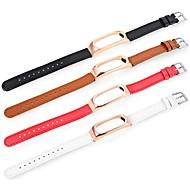 billiga Smart klocka Tillbehör-Klockarmband för Mi Band 2 Xiaomi Sportband Äkta Läder Handledsrem