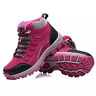 Dames Schoenen PU Lente Herfst Comfortabel Sportschoenen Trektochten Ronde Teen Veters Voor Sportief Paars Roze
