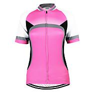 Arsuxeo Žene Kratkih rukava Biciklistička majica Bicikl Biciklistička majica, Quick dry, Anatomski dizajn, Prozračnost