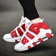 baratos -Sapatos Caminhada Feminino / Masculino Preto / Azul / Vermelho / Branco Courino