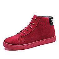 メンズ 靴 PUレザー 冬 スニーカー 編み上げ のために カジュアル ブラック ダークブルー キャメル