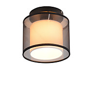 cheap Ceiling Lights & Fans-Rustic/Lodge Vintage Chic & Modern Retro Modern/Contemporary Mini Style Flush Mount Ambient Light For Kitchen Dining Room Entry 110-120V