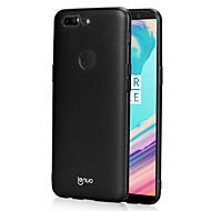 billiga Mobil cases & Skärmskydd-fodral Till OnePlus 5 / OnePlus 5T Ultratunt / Frostat Skal Enfärgad Hårt PC för One Plus 5 / OnePlus 5T
