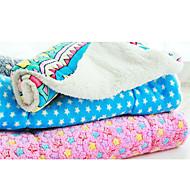 Mačka Pas Kreveta Ljubimci Pokrivači Geometrijski oblici Zvijezde Sive boje Crvena Plava Pink Duga Za kućne ljubimce