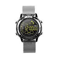 smartwatch ex28a 50m vandtæt til iOS android besked påmindelse call reminder pedometer stopur