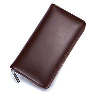 baratos Clutches & Bolsas de Noite-Unisexo Bolsas Pele Bolsa de Mão Ziper Rosa / Fúcsia / Café