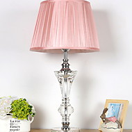 cheap Lamps-Crystal Crystal Table Lamp For Crystal 220-240V Light Pink