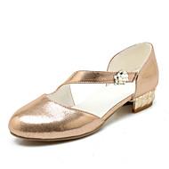 baratos Sapatilhas Femininas-Mulheres Sapatos Glitter Paetês Sintético Primavera Verão Solados com Luzes Plataforma Básica Saltos Salto Alto de Cristal Ponta Redonda