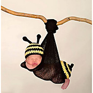 cheap Kids' Accessories-Unisex Scarf, Hat & Glove Sets, All Seasons Cotton Bandanas - Black