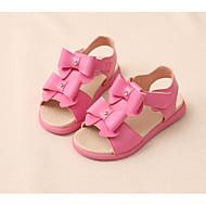 baratos Sapatos de Menina-Para Meninas Sapatos Micofibra Sintética PU Verão Conforto Sandálias para Branco / Pêssego / Rosa claro