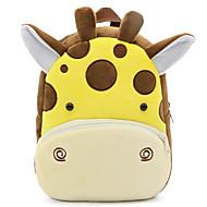 お買い得  子供用バッグ子供バッグ-子供用 バッグ ベルベット キッズバッグ ジッパー のために カジュアル オールシーズン ブラウン