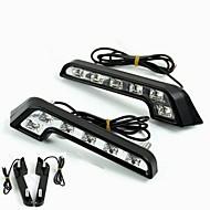 billiga Billampor-2pcs Glödlampor 6W Högprestations-LED 6 Varselljus For Mercedes-Benz C200 / C180 / Classic Universell