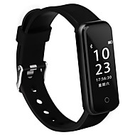 tanie Inteligentne zegarki-Inteligentna bransoletka iOS Android IP67 Wodoszczelny Długi czas czuwania Spalone kalorie Krokomierze Rejestr ćwiczeń Zdrowie Sportowy