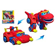 cheap Robots, Monsters & Space Toys-Robot Toy Boat Race Car Vehicles Dinosaur Animal Transformable Animals Parent-Child Interaction Animal Soft Plastic Kid's Toy Gift 1 pcs
