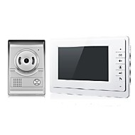 cheap -7 inch Wired Color Video Intercom Door Phone System with Unlocking Doorbell Camera