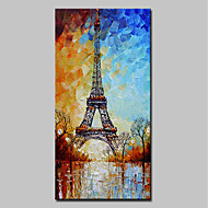cheap Wall Art-Mintura® Large Size Hand-Painted Modern Abstrac Landscape Oil Paintings on Canvas Wall Art Pictures for Home Decoration No Frame