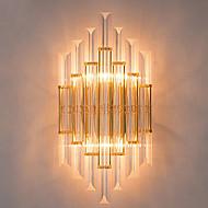 tanie Kinkiety Ścienne-Kryształ Prosty Modern / Contemporary Na Metal Światło ścienne 110-120V 220-240V 40W