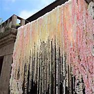 billige Kunstig Blomst-Kunstige blomster 1 Afdeling Moderne Blålilla Vægblomst