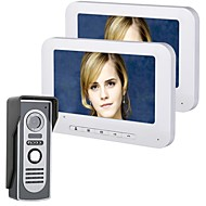 MOUNTAINONE 7 Inch TFT 2 Monitors Video Door Phone Doorbell Intercom Kit 1-camera 2-monitor Night Vision with HD 700TVL Camera  sc 1 st  LightInTheBox & Cheap Video Door Phone Systems Online | Video Door Phone Systems for ...