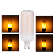 billige Bi-pin lamper med LED-1pc 3W 68 lm G9 LED-lamper med G-sokkel 68 leds SMD 2835 Gul AC 85-265V