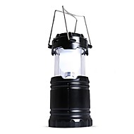 Lanternes & Lampes de tente Eclairage d'Urgence LED 90 lm Automatique Mode LED Ajustable Camping/Randonnée/Spéléologie Noir Café
