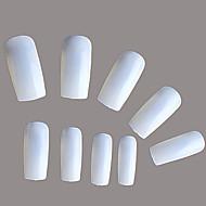 500 ks Natural Color plné nehtové tipy tipy akrylové nehty umění