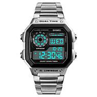 billige Sportsur-Herre Digital Digital Watch Armbåndsur Sportsur Japansk Alarm Kalender Kronograf Vandafvisende Selvlysende i mørke Stopur Dobbelte