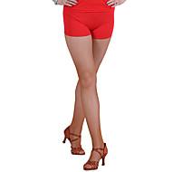 Latein-Tanz Unten Damen Leistung Chinlon Muster / Druck Ärmellos Normal Unterhose