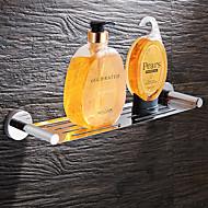 お買い得  クローム Series-浴室棚 高品質 ステンレス鋼 1枚 - ホテルバス