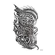 Χαμηλού Κόστους Τατουάζ, Τέχνη του Σώματος-Τατουάζ αυτοκόλλητο μπράτσο / ώμος προσωρινή Τατουάζ 1 pcs Σειρά Τοτέμ Όπως στην Εικόνα Τέχνες σώμα Καθημερινά