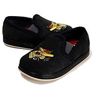 baratos Sapatos de Menino-Para Meninos Sapatos Tecido Primavera / Outono Conforto / Primeiros Passos Rasos Elástico para Cinzento Escuro