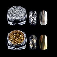 1pc Brillante Para arte de uñas Manicura pedicura Clásico Diario