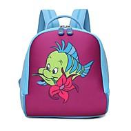 tanie Plecaki-Dla dzieci Torby Poliwęglan plecak Zamek na Casual Na każdy sezon Blushing Pink Purple Yellow Fuchsia Brown