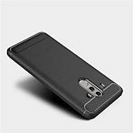 billiga Mobil cases & Skärmskydd-fodral Till Huawei Mate 10 pro Mate 10 lite Frostat Skal Ensfärgat Mjukt TPU för Mate 10 Mate 10 pro Mate 10 lite Mate 9