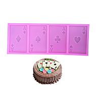 billige Bakeredskap-Bakeware verktøy silica Gel baking Tool / Bursdag / Valentinsdag Kake / Til Sjokolade / Til Kake Cake Moulds 1pc