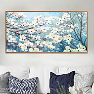 cheap Framed Arts-Floral/Botanical Oil Painting Wall Art,Aluminum Alloy Material With Frame For Home Decoration Frame Art Bedroom Indoor