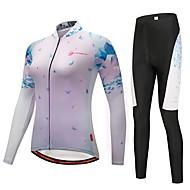 CYCOBYCO Biciklistička majica s tajicama Žene Dugih rukava Bicikl Biciklizam Hulahopke Hlače Biciklistička majica Majice Kompleti odjeće