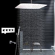 billige Rabatt Kraner-Dusjkran - Moderne Rustfritt Stål Takmontert Keramisk Ventil
