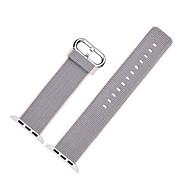 billiga Smart klocka Tillbehör-Klockarmband för Apple Watch Series 3 / 2 / 1 Apple Modernt spänne Nylon Handledsrem