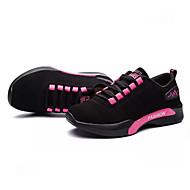 baratos Sapatos Masculinos-sapatos Couro Ecológico Primavera Outono Conforto Tênis para Ao ar livre Branco Preto Fúcsia Vermelho