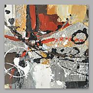 billiga Abstrakta målningar-Hang målad oljemålning HANDMÅLAD - Abstrakt Moderna Duk
