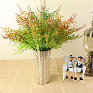 billige Kunstige blomster-1 Gren Plastikk Planter Andre Bordblomst Kunstige blomster