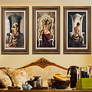 cheap Framed Arts-Still Life Oil Painting Wall Art,Aluminum Alloy Material With Frame For Home Decoration Frame Art Bedroom Indoor
