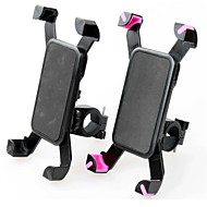 Bike Mobile Phone Mount Stand Holder Adjustable Stand Mobile Phone Buckle Type ABS Holder