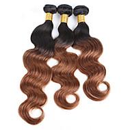 Brazilska kosa Klasika Tijelo Wave Isprepliće ljudske kose 3 komada Visoka kvaliteta Ljudske kose plete Dnevno